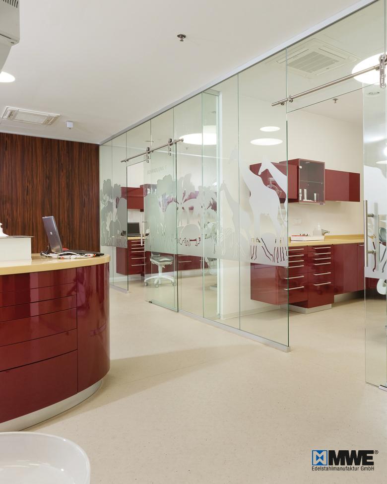Büro Glastrennwände