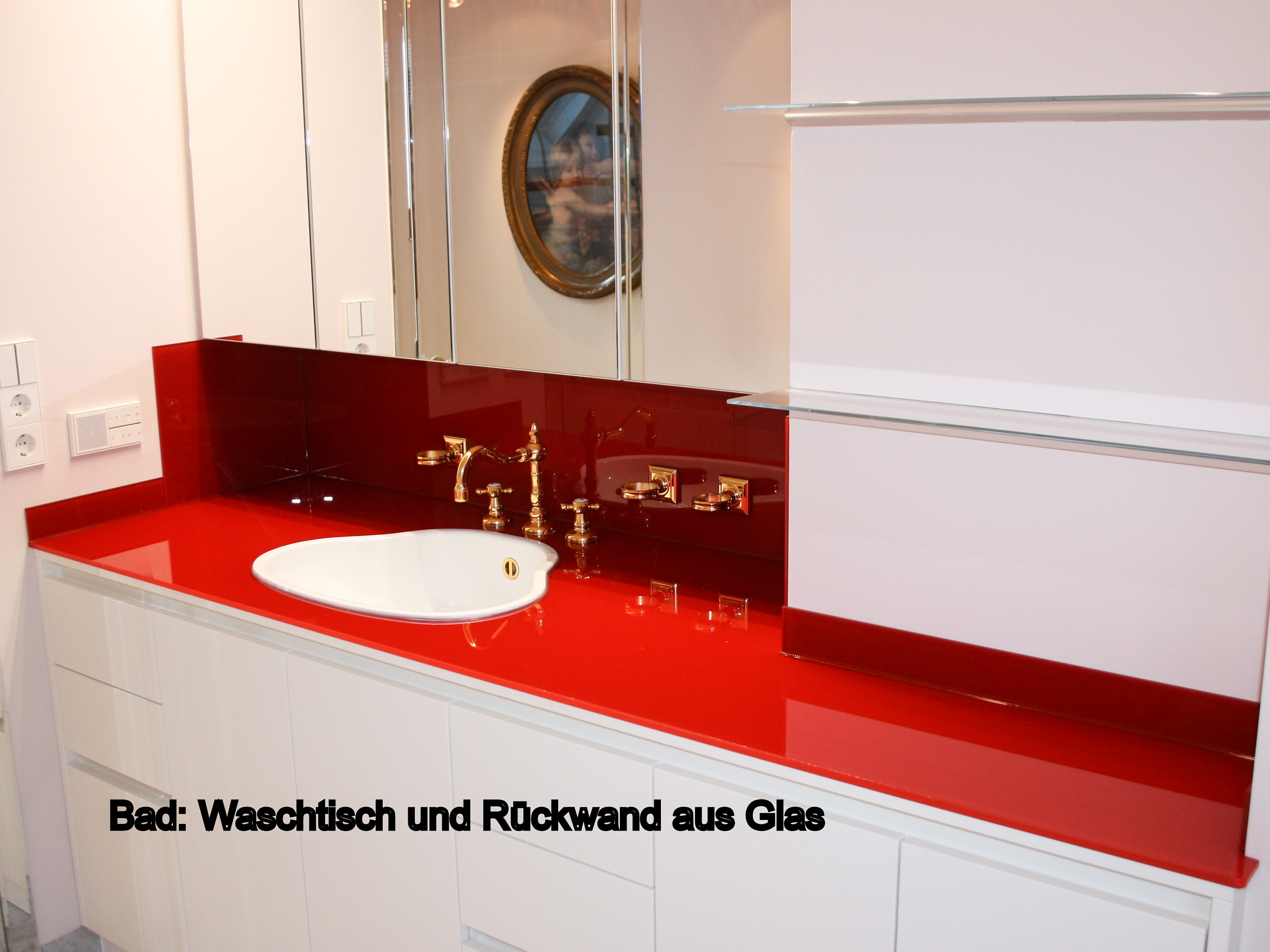 Waschbecken glas schuhmann for Waschbecken bad